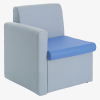 Alto Modular Seating Range - right armrest - from London Office Furniture Warehouse