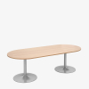 trumpet base radial table - london office furniture warehouse