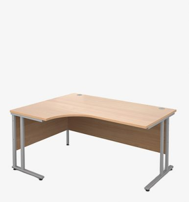 Maestro 25SL Range Radial Desks - London Office Furniture Warehouse