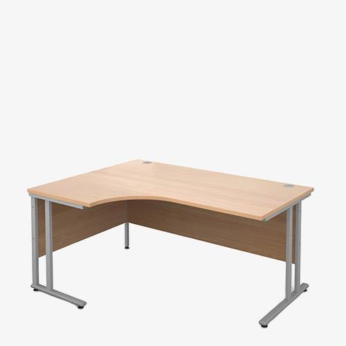 Maestro 25SL Range Radial Desks - London Office Furniture Warehouse