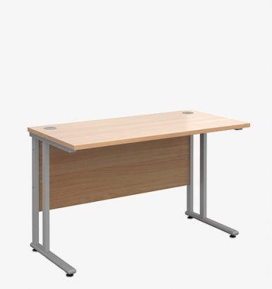 Maestro 25SL Range Shallow Desks - London Office Furniture Warehouse