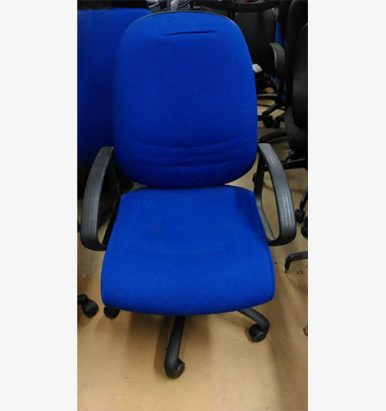 Budget Blue Operator Chairs - London Office Furniture Warehouse