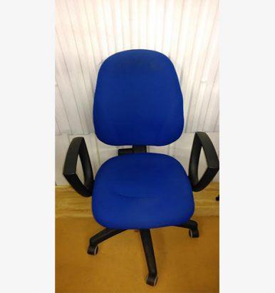 Medium Back Blue Operator Chair - London Office Furniture Warehouse