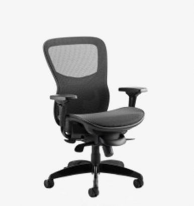 Stealth Shadow Posture Chair - London Office Furniture Warehouse