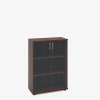 Magnum Glass Fronted Cupboard - London Office Furniture Warehouse