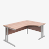 London Range Radial Desks - London Office Furniture Warehouse