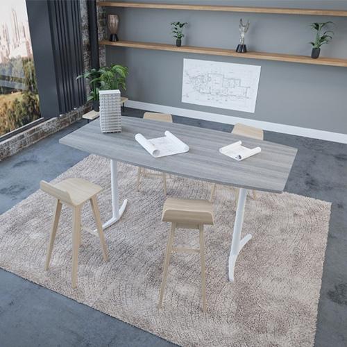 Sit-Stand Envol Meeting Table