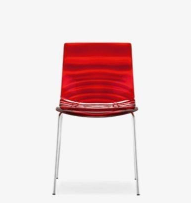 Red Stacker - Connubia L'Eau Chair
