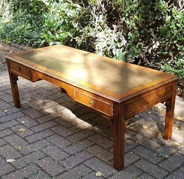 Oak Antique Style Vintage Classical Retro Coffee Table