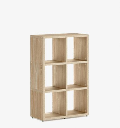 Qube Rectangular Shelving Units By Eliza
