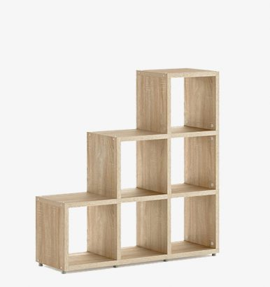 Qube Step Shelving Units By Eliza