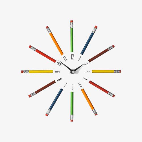 Pencil Clock by Premier