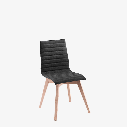 Bjorn & Benny Wooden Based Side Chair