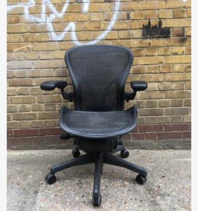 2nd hand Herman Miller Aeron chairs