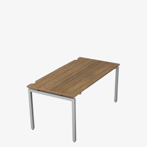 City Single Slim Bench Desk