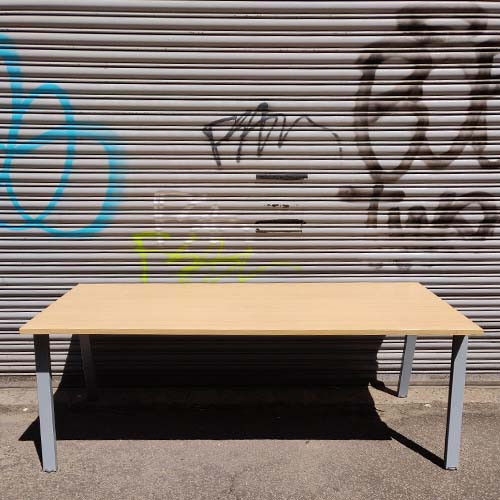 Bench Style Meeting Table