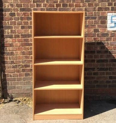 2nd Hand Beech Bookcase