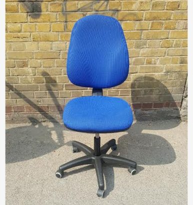 2nd Hand Blue Operator Chairs