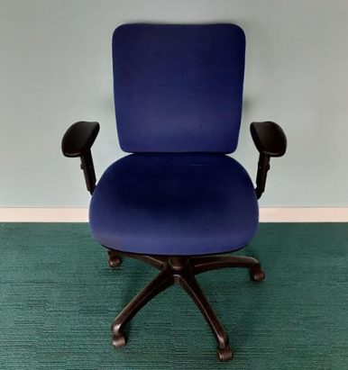 Second Hand Square Backed Operator Chairs