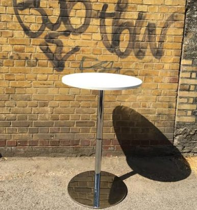 2nd Hand Poseur Tables