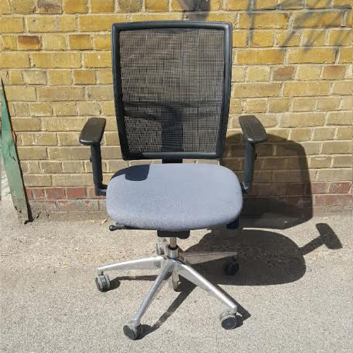 Second Hand Mesh Back Operator Chair