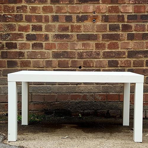 White coffee table – 2