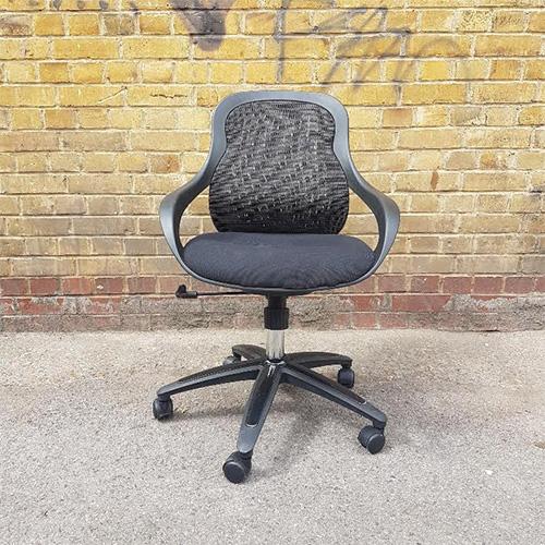 Black Mesh Chair – 1