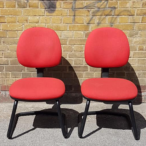Pair of Red cantilevers – 2