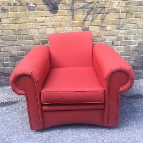 2nd – orange armchair – 1