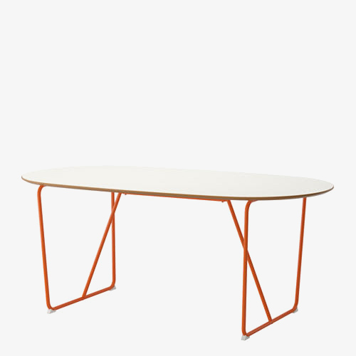 Orange Based Table