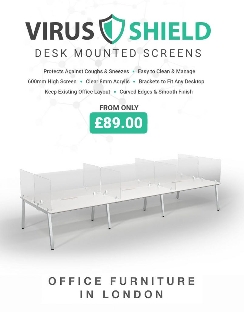 Office Screens - Virus Shielding Screens - Virus Protection