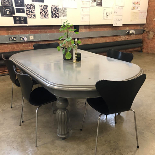 Traditional grey table – 1