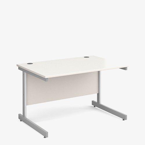 1100mm – white canitlever desks