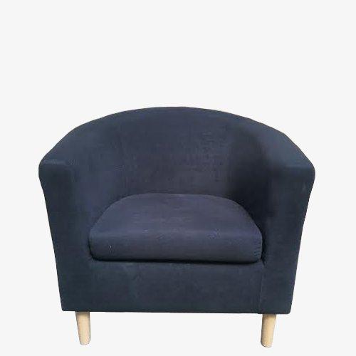 Black suede tub – 2